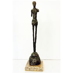 Alberto Giacometti  Original, limited Edition  Bronze - MAN SHOULDERS