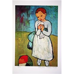 Picasso Limited Edition - Child With Dove - from Collection Domaine Picasso