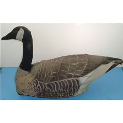 Lloyd C Lindroll Canvas Covered Goose Decoy