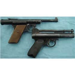 Webley Mark I & German Air Pistols