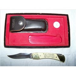 Schrade Scrimshaw pocket knife 8 3/4""