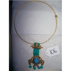 Vintage necklace Jade?  florenza
