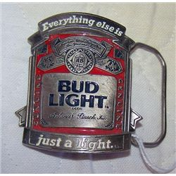 Bud Light belt buckle BA-314 Official