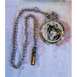 Wolf pocket watch - Avon
