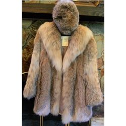 Burchay's Fur coat with hat