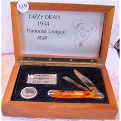 Dizzy Dean MVP Pocket Knife