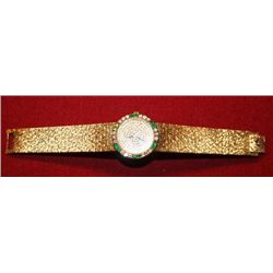 Ladies Piaget Watch, 18 Karat Yellow Gold