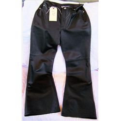 Pair leather Motor Cycle ladies pants