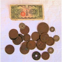 Lot Foreign money - China?