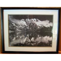 Framed Picture View of Mountains