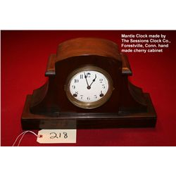 Session Mantel Clock, Cherry wood - Foristuilr Co