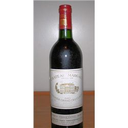 Bottle wine Chateau Margaus  Gran Vin Premier