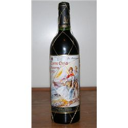 Bottle Torre Oria Reserve Spain 1990 750ml
