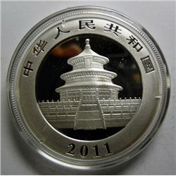 2011 CHINA PANDA ONE OZ. SILVER