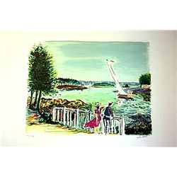 A La Voille - Signed Limited Edition Lithograph- Picot