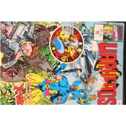 1992 Marvel Comics; Warheads-The Warheads confront X-Men Edition