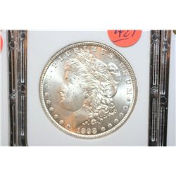 1898-O Silver Morgan $1, MCPCG Graded MS60