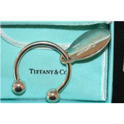 "2001 Tiffany & Co ""Five Year Activant"" KeyChain"