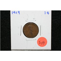 1919 Wheat Back Penny