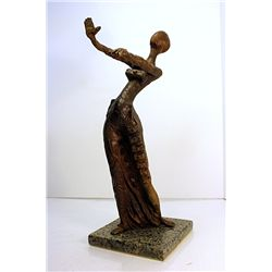 Salvador Dali Enchanting Original, limited Edition Bronze - Woman With Drawers