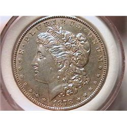 1878-S Morgan Dollar AU50