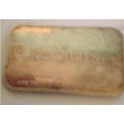 .999 SILVER ONE TROY OZ  BAR