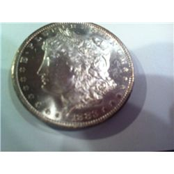 1883 CC MORGAN SILVER DOLLAR, MS, BU