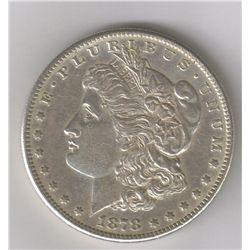 1878-S  MS MORGAN DOLLAR WITH VAM