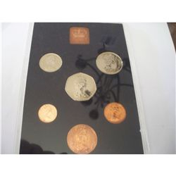 1976 Decimal Coinage of Great Britain Proof Set, Includes N. Ireland