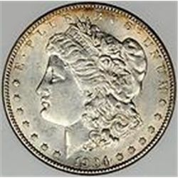 1904 Morgan Dollar AU55