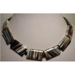 SPLENDID Agate Bead Necklace MWF1731