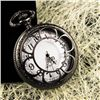 MWF1434 Classic Black Mens Analog Quartz Pocket Watch