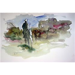 Borein  Watercolor Painting.