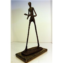 Alberto Giacometti  Original, limited Edition  Bronze - Walking Man III