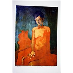 Picasso Limited Edition - Seated Nude - from Collection Domaine Picasso