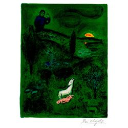 Lamon Discovers Daphnis- Chagall - Limited Edition on Canvas