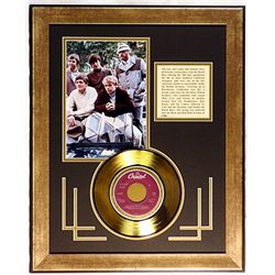 Beach Boys  Giclee with Gold Record