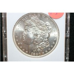 1880-S Silver Morgan $1, MCPCG Graded MS62