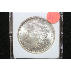 1898-O Silver Morgan $1, MCPCG Graded MS62