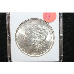 1889 Silver Morgan $1, MCPCG Graded MS61