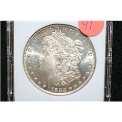 1883-O Silver Morgan $1, MCPCG Graded MS63