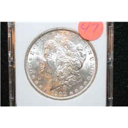 1900 Silver Morgan $1, MCPCG Graded MS63+