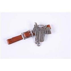 Original Frazier Sterling Watch Fob