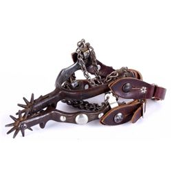 Burman Style Spurs with Chains