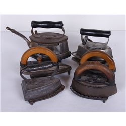 6 Piece Antique Iron Collection