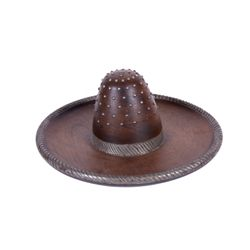 Antique Wooden Hat Display