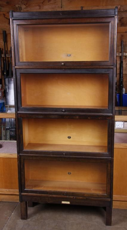 green img furnish tier shop century bookcase front mid glass
