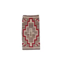 Navajo Red, Grey, & Cream Eyedazzler Rug