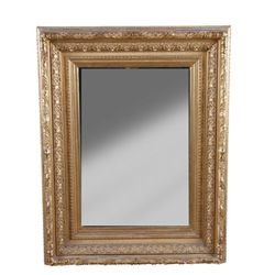 Fancy Gold Gilt Beveled Mirror