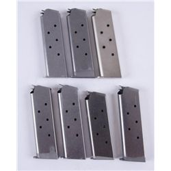 Lot of 7 Colt 1911 Mags